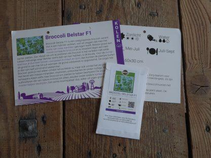 Broccoli Belstar F1 met infofiche