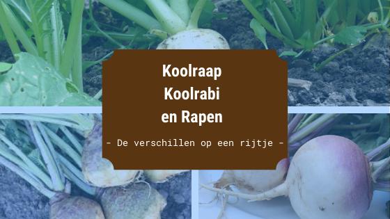 Koolraap Koolrabi en Rapen omslagfoto
